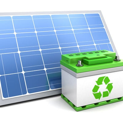 Solar Battery and Solar Panel